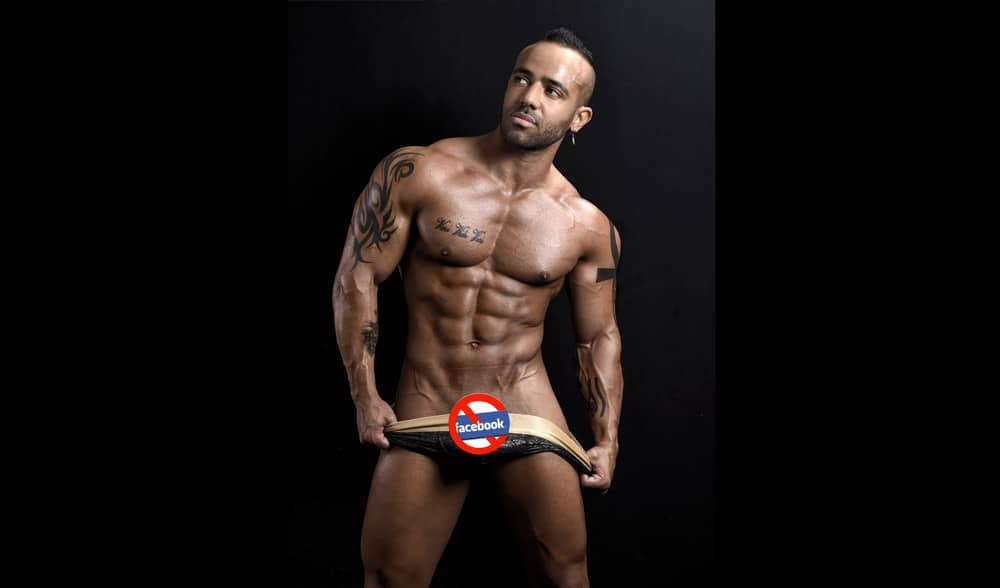 Stripteaseur Aaron Paris