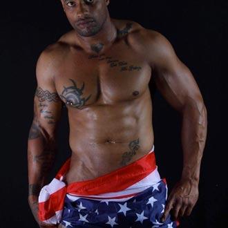 Stripteaseur Black à domicile Paris